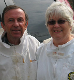 Jim and Pat Haskell will headline the June NRVBA meeting, talking about the importance of nuc production.